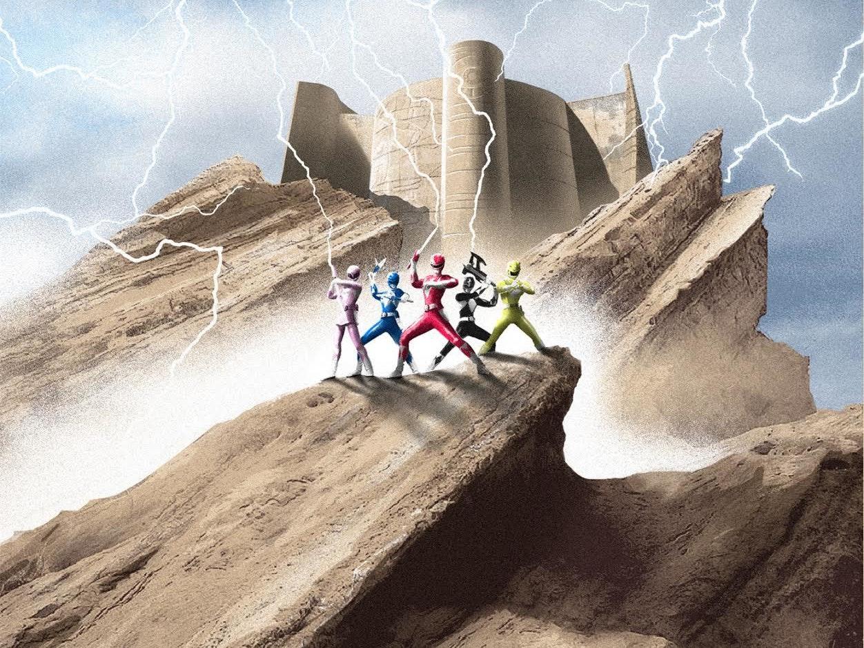 We're Getting a Nostalgia-Fueled 'Power Rangers' Vinyl LP