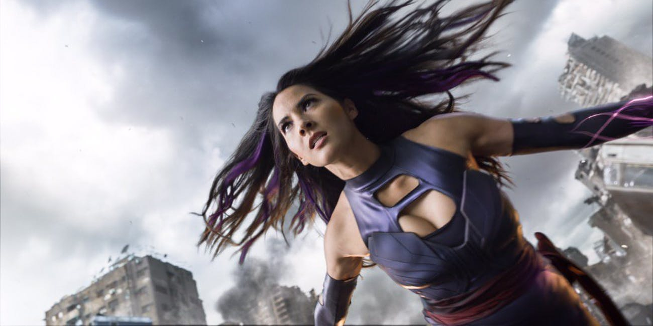 Olivia Munn as Psylocke Shows 'X-Men: Apocalypse' Respects