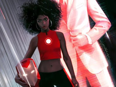 Marvel's Female, Black, Iron Man Got this Predictable Reaction