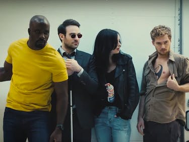 Watch The Defenders Loiter and Harass Each Other on Twitter