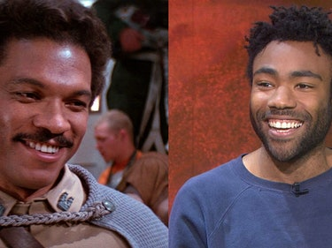Young Lando and Old Lando Had Lunch and Talked 'Star Wars'