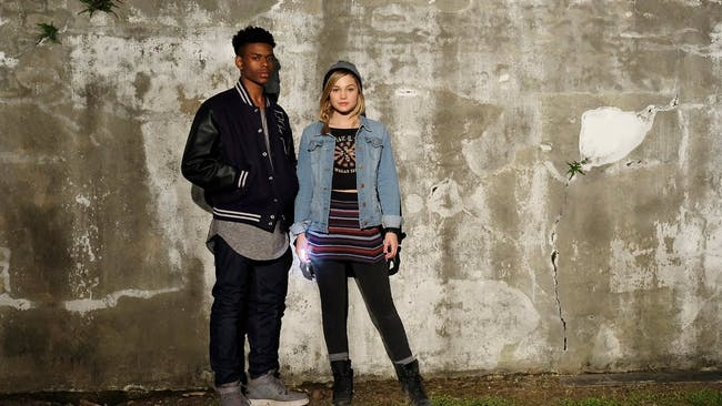 Tandy Bowen (Olivia Holt) and Tyrone Johnson (Aubrey Joseph) share a mysterious connection that has something to do with emerging superpowers.