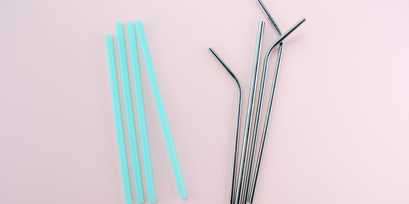 eco straws stainless steel vs plastic