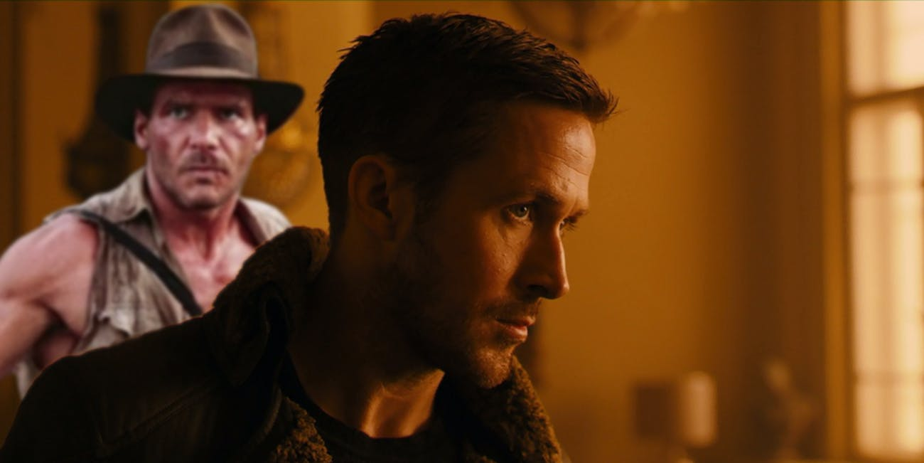 New  Blade Runner 2049  Clip Weirdly References Indiana Jones  73f7dc0c5e82