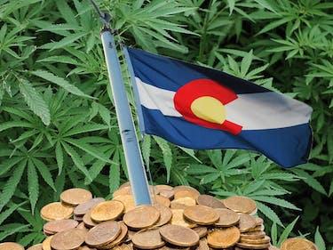 Colorado's Department of Education will receive $9.7 million from marijuana taxes.