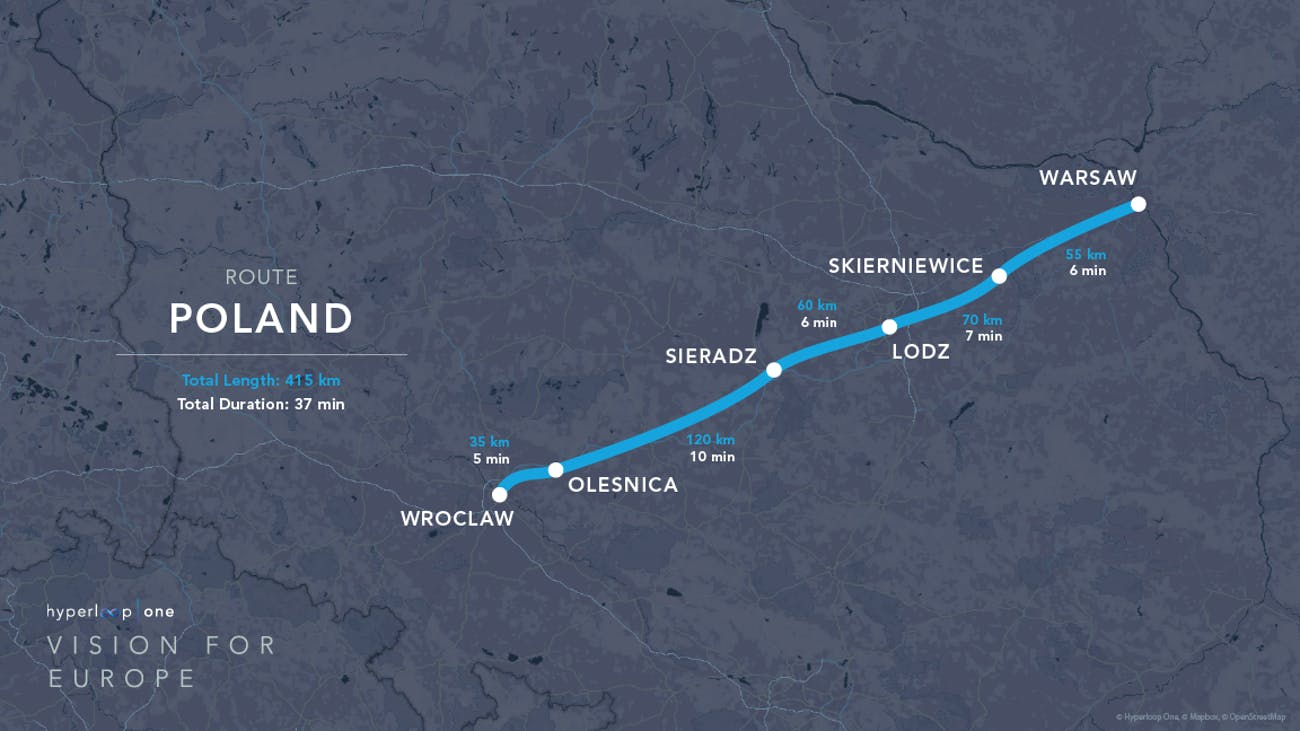 The Poland route