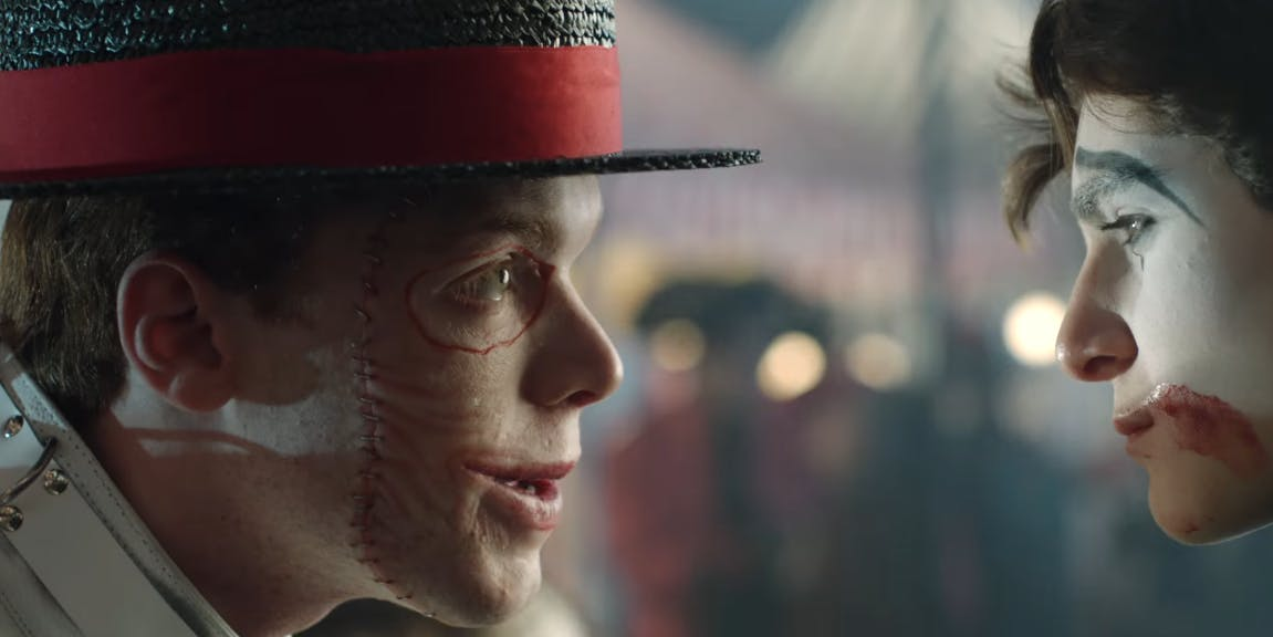 Cameron Monaghan as Jerome Valeska on 'Gotham'