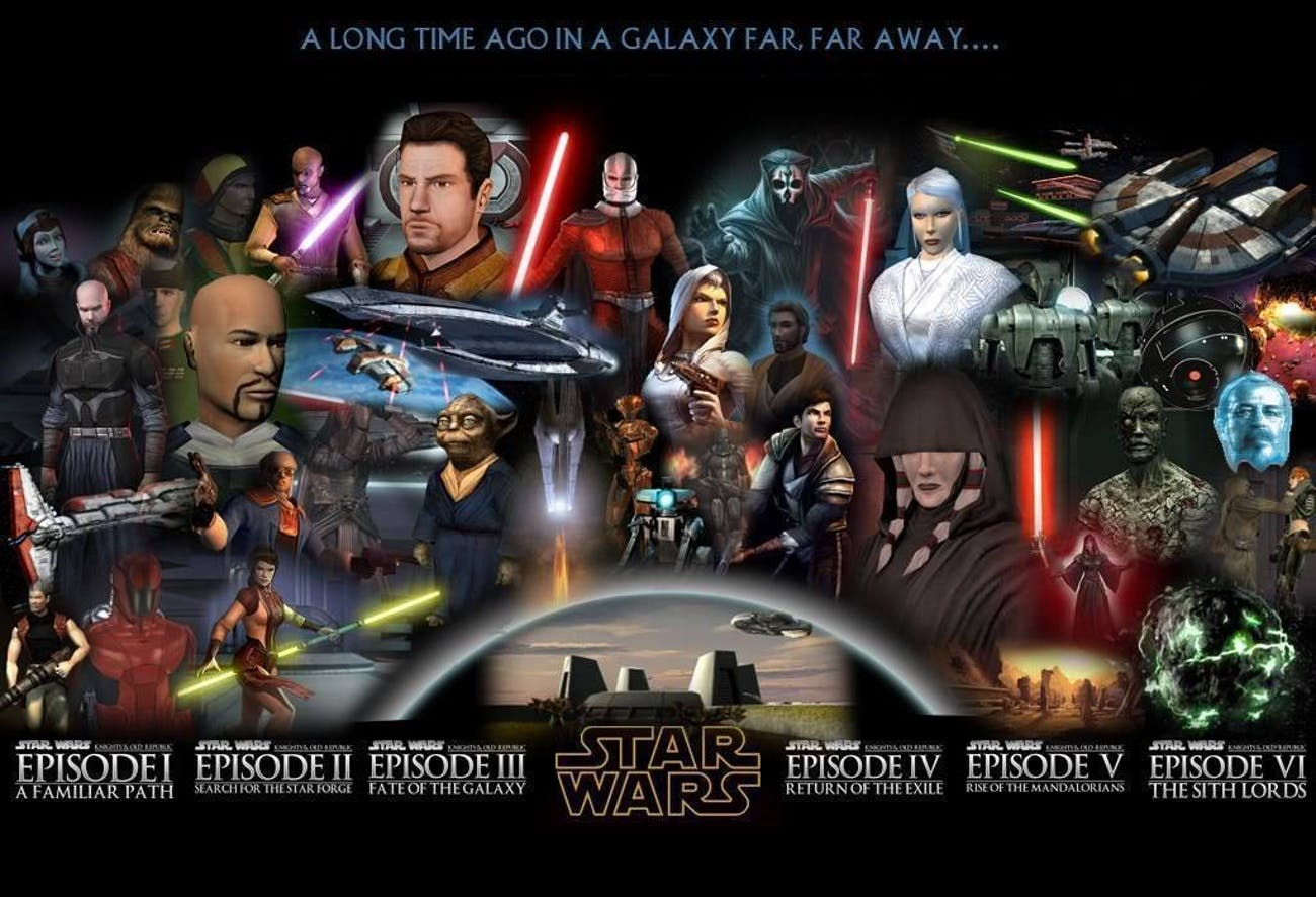 These fan videos for KOTOR have built out a unique cinematic universe.