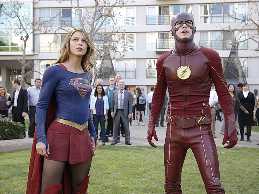 "Supergirl and The Flash in crossover episode ""Worlds Finest"""