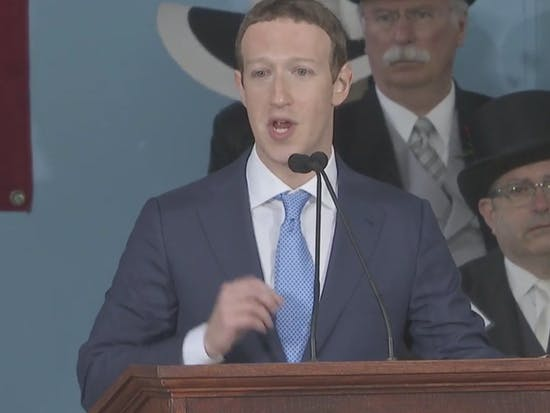 Facebook Founder Mark Zuckerberg Calls for Universal Basic Income