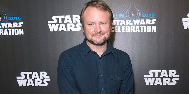 LONDON, ENGLAND - JULY 17:  Rian Johnson, director of Star Wars Episode VIII, attends the Star Wars Celebration 2016 at ExCel on July 17, 2016 in London, England.  (Photo by Ben A. Pruchnie/Getty Images for Walt Disney Studios)