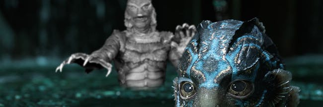 'Shape of Water' versus 'Creature from the Black Lagoon'