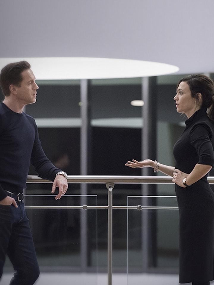 Billions, Episode 11, Season 1, Damian Lewis, Maggie Siff
