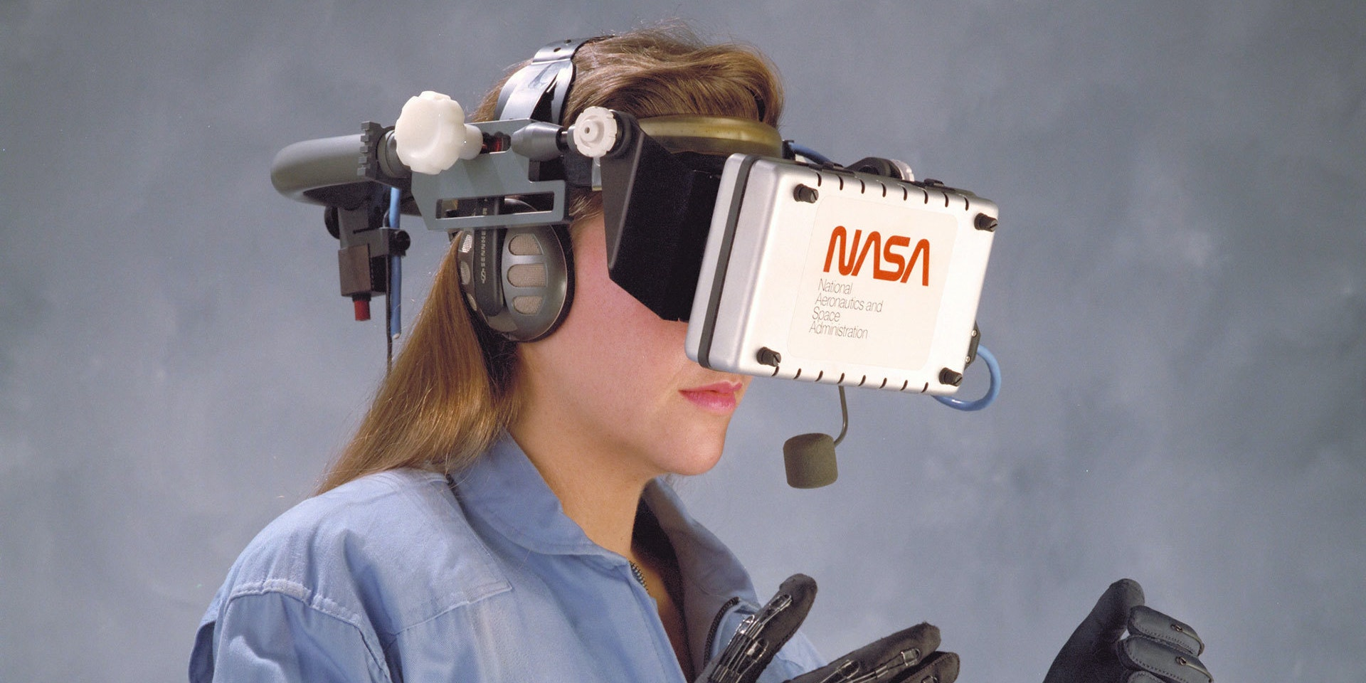 NASA says virtual reality will be standard equipment within 10 years.