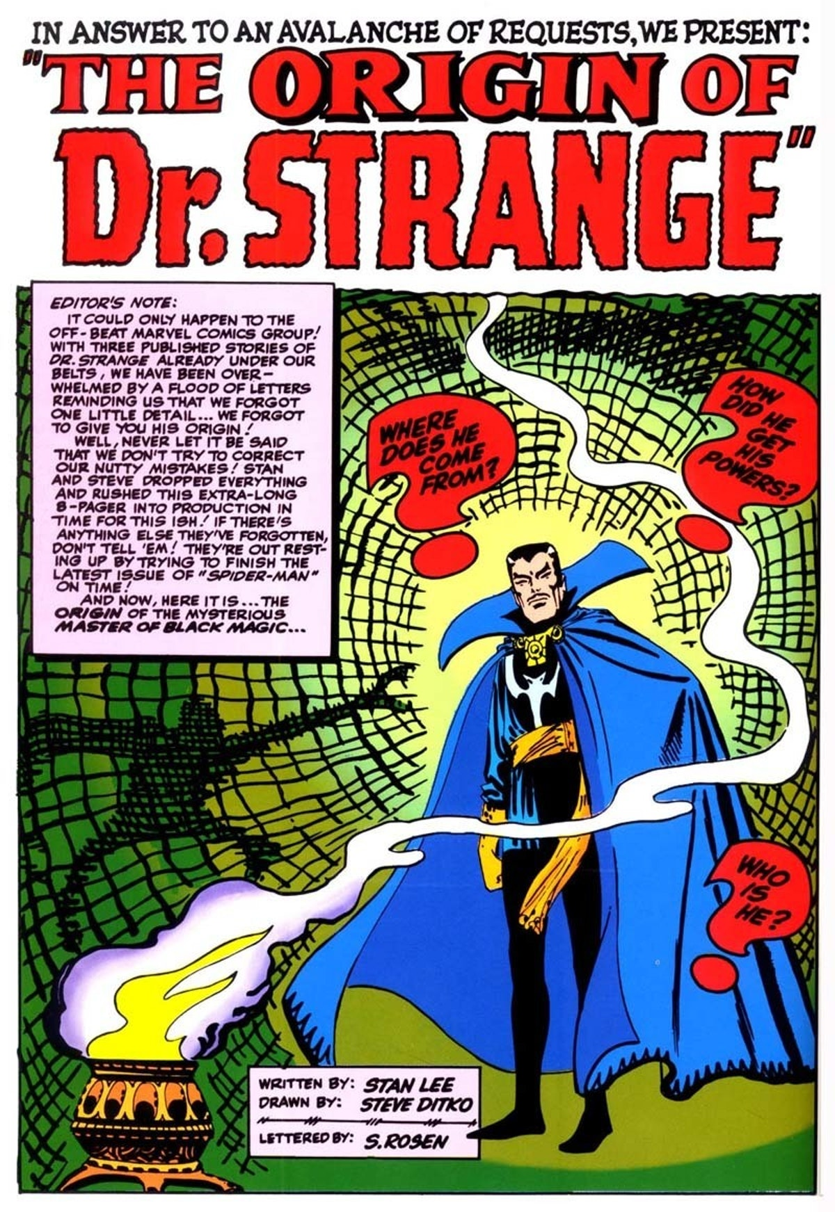 From 'Strange Tales' #115
