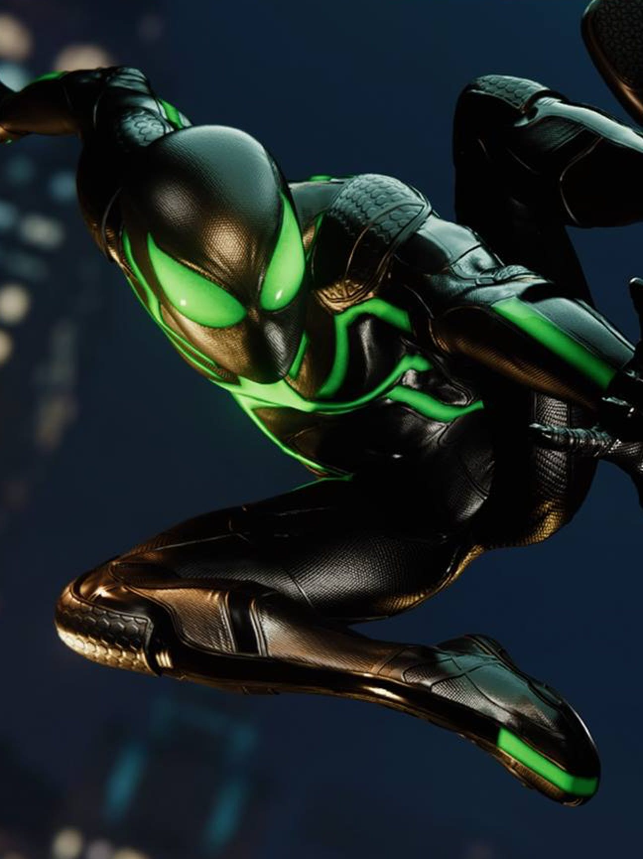Spider-Man PS4 Stealth Suit
