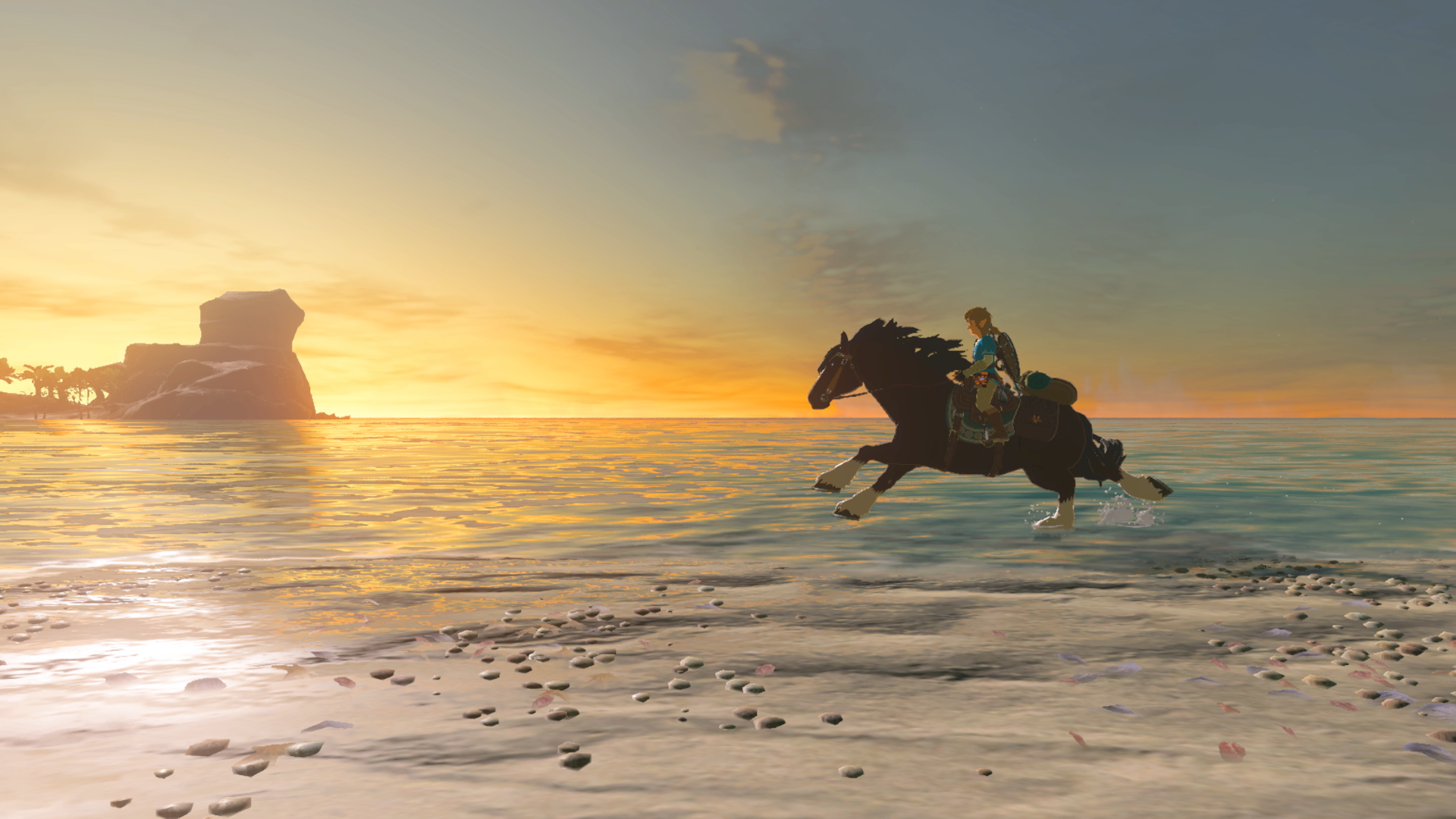Here's one way to cheat Breath of the Wild's shield-surfing challenge