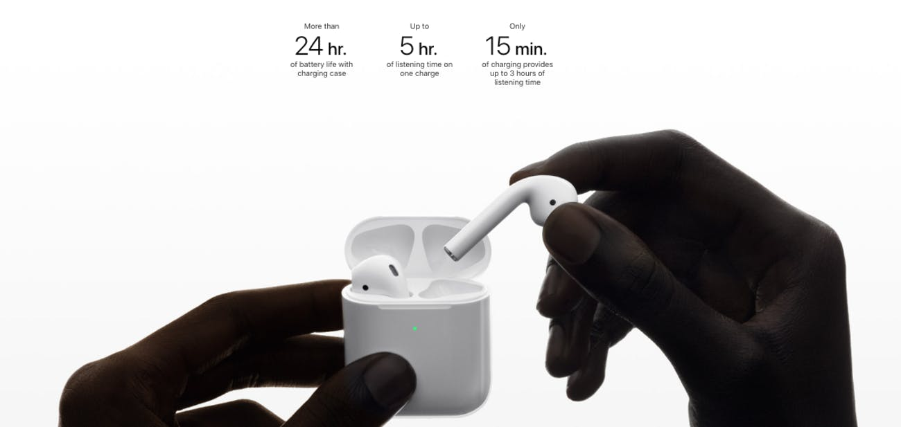 apple airpods wireless charging case specs