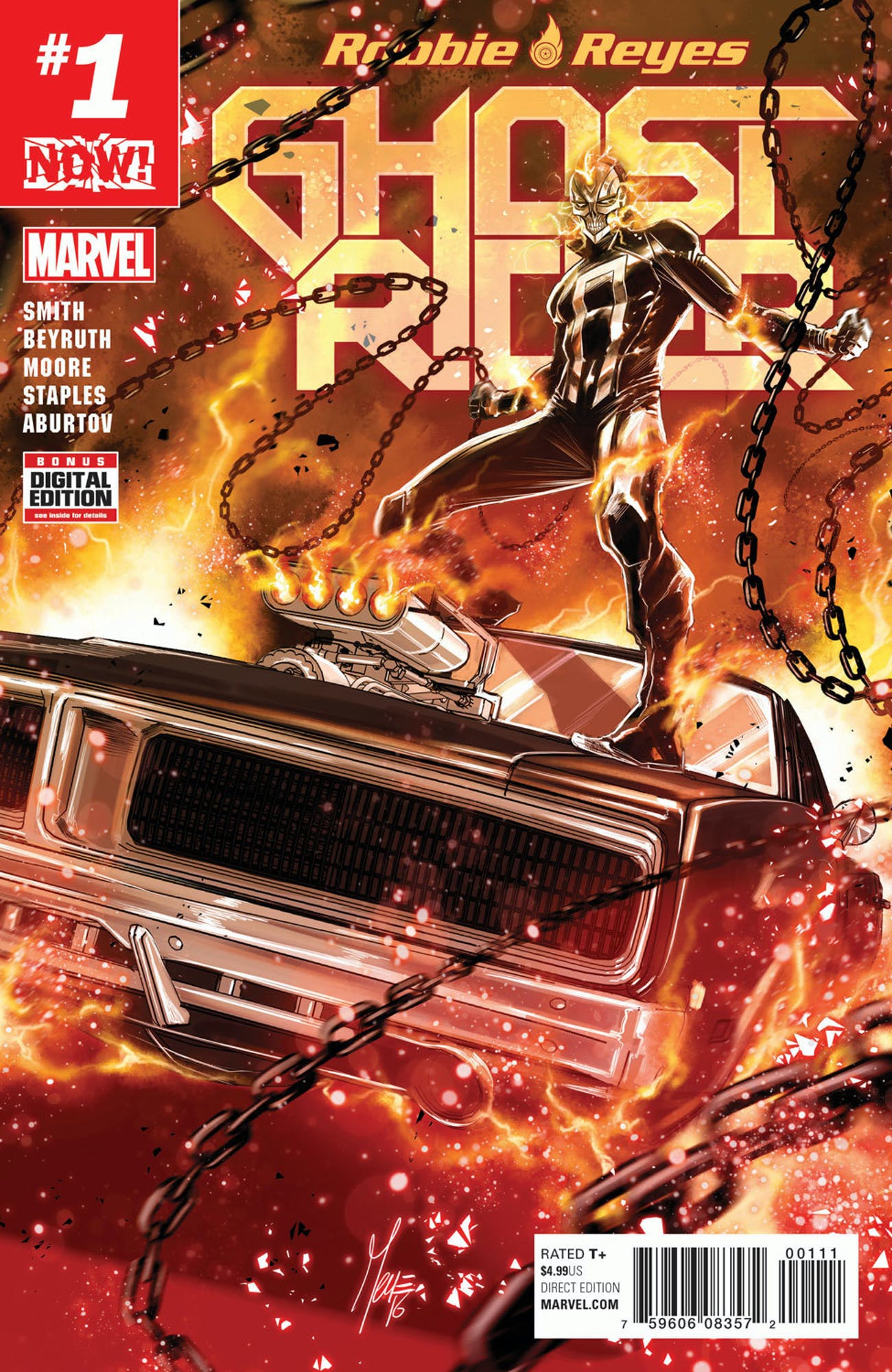 Cover for Marvel's Ghost Rider #1