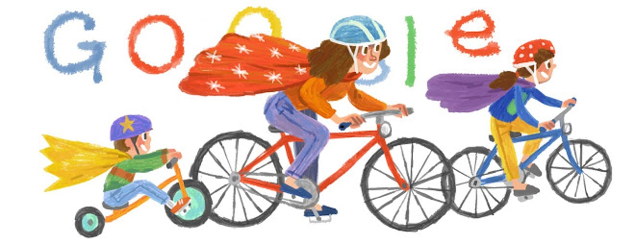 International Mother's Day Google Doodle 2014
