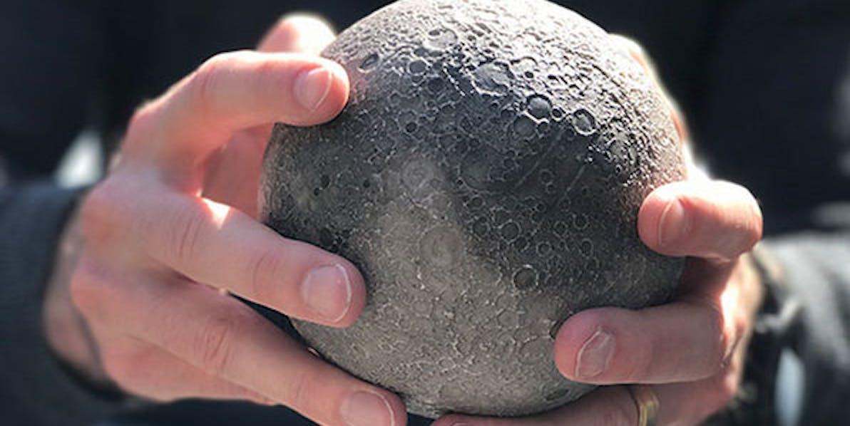 lunar moon model