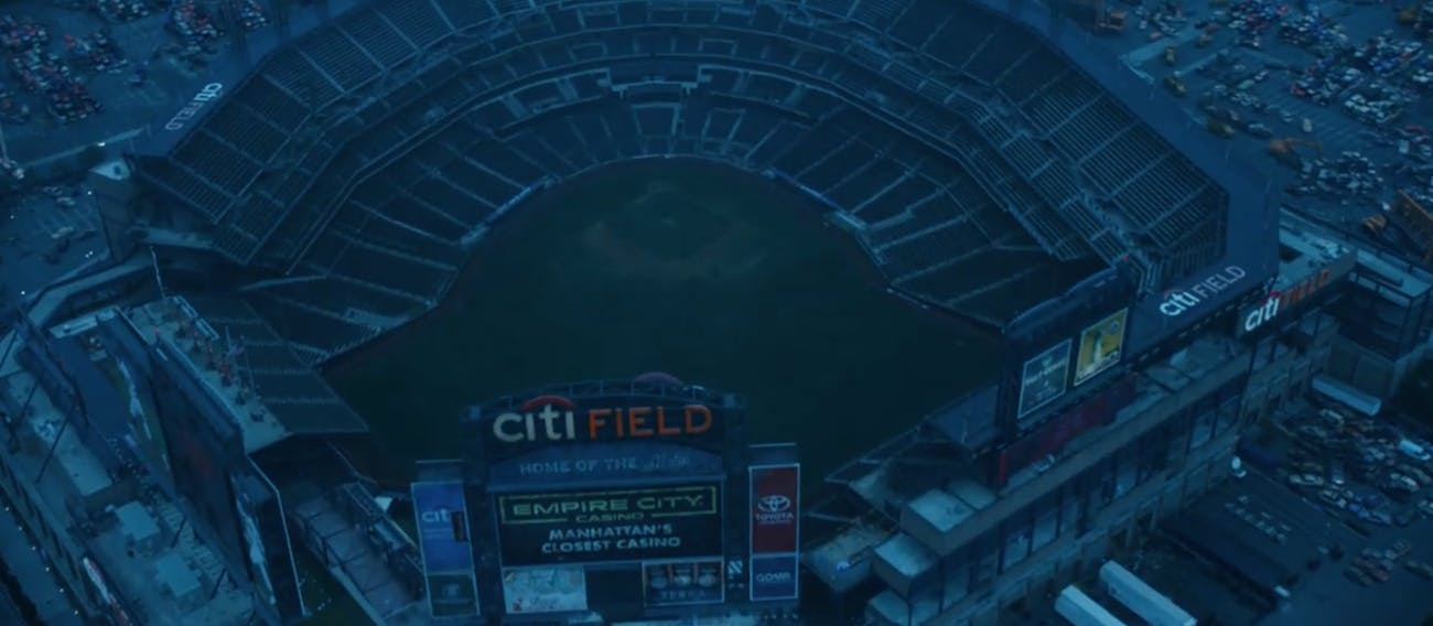 Citi Field as it appears in the 'Avengers: Endgame' trailer that aired before the Super Bowl.