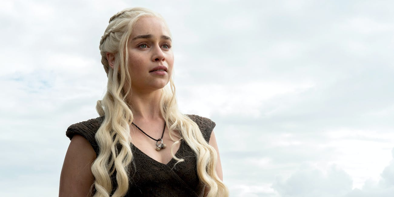 Khaleesi in 'Game of Thrones'