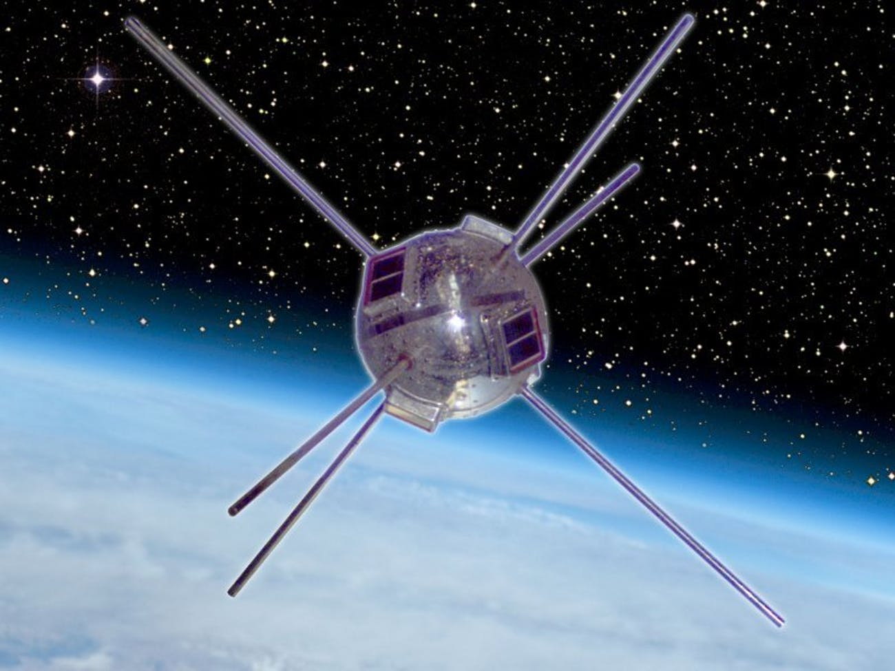 This little guy, Vanguard 1, was a solar pioneer.