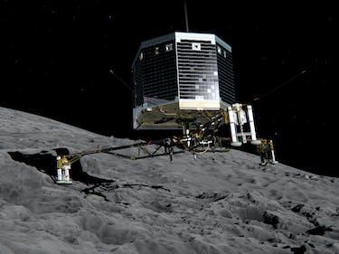 Eureka! European Space Agency Finds Long Lost Philae Probe