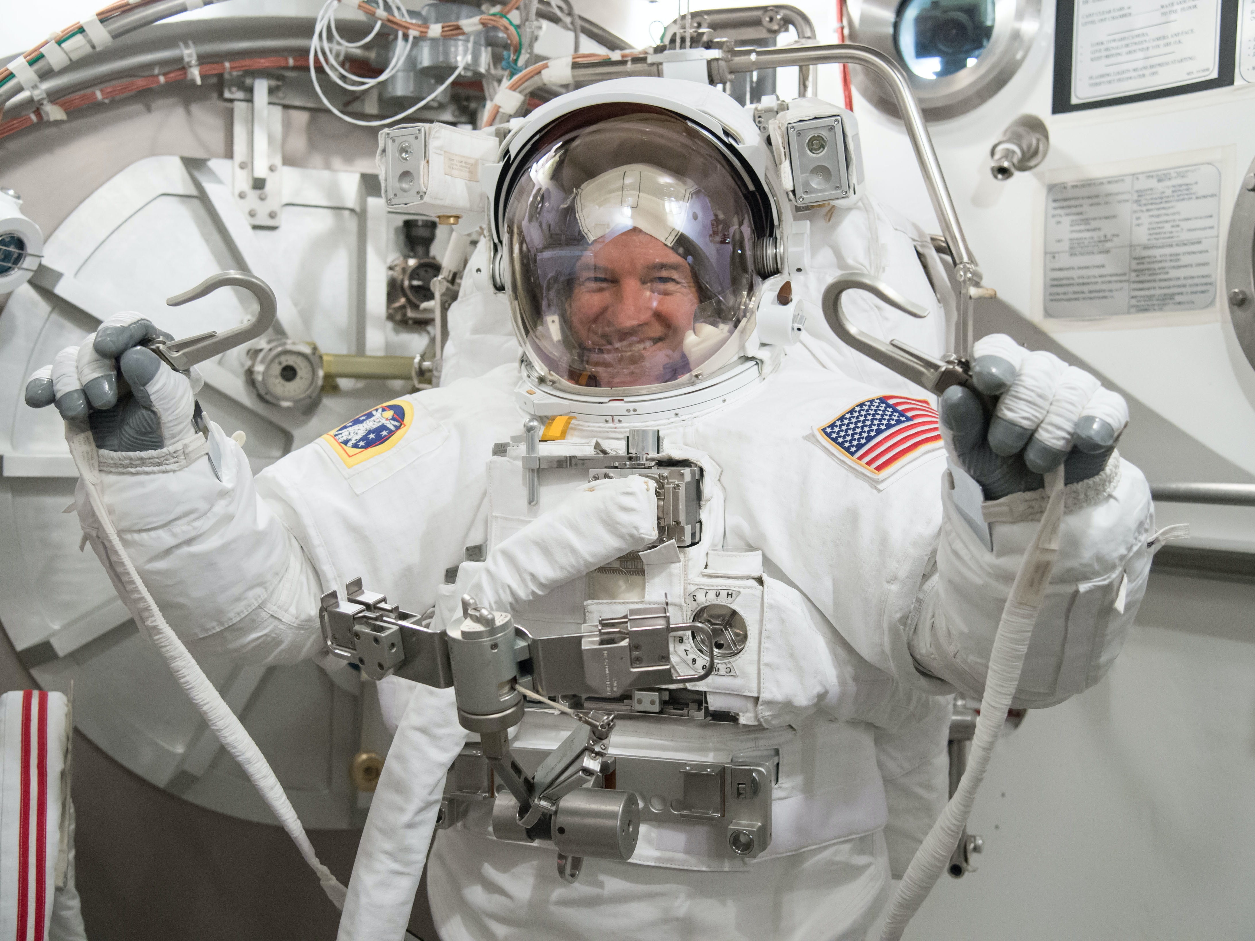 """Astronaut Jeff Williams:  """"I Wouldn't Say I'm Nervous"""" About Fourth Trip to Space"""