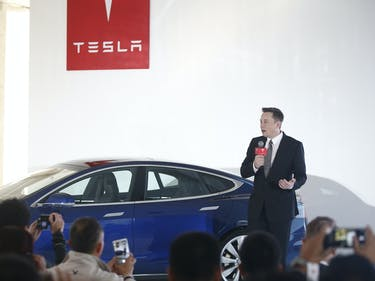 Tesla Gigafactory Opens With Eyes on Expansion, Buses