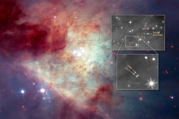 hubble orion nebula