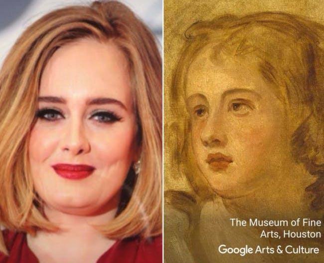 Adele Google Face Match
