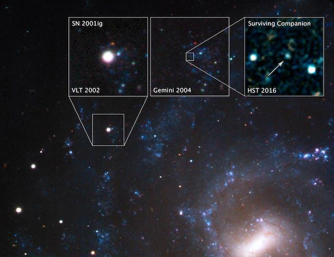 supernova 2001ig NGC 7424