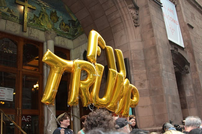 trump tower balloon