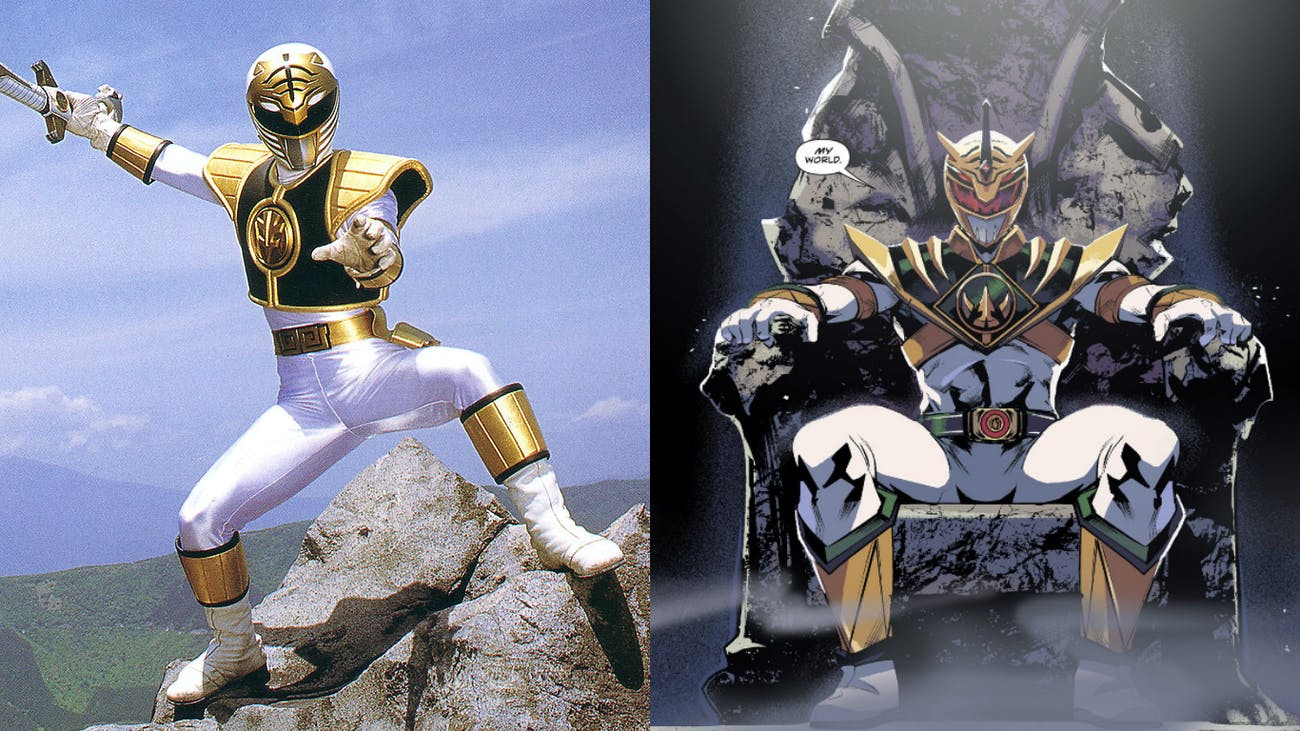 Power Rangers White Ranger