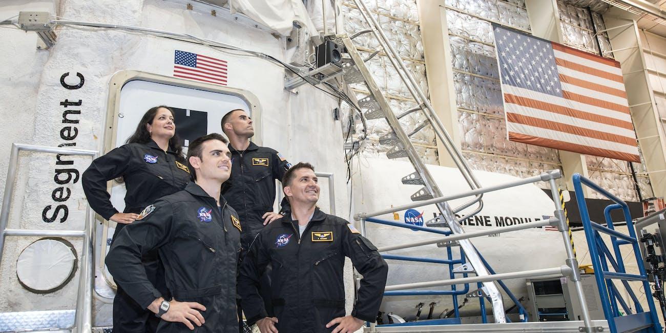 NASA's HERA team, Campaign 4 Mission 2.