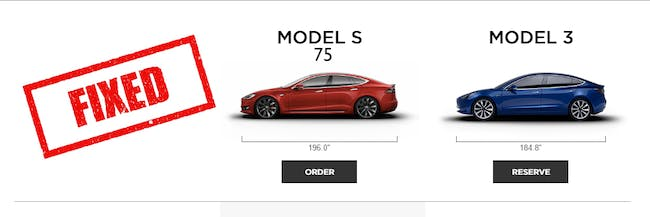 Reddit fixed that leaked model 3 comparison chart to make Tesla more honest.