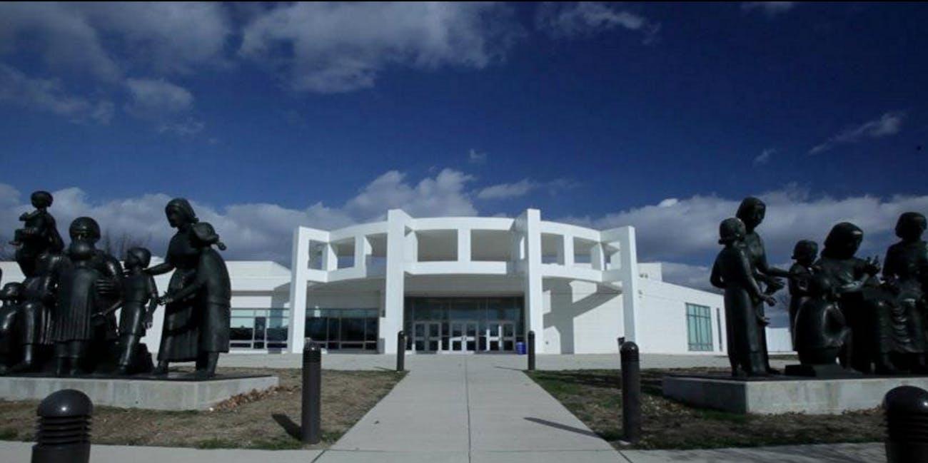 Microsoft School of the Future West Philadelphia Pennsylvania school front