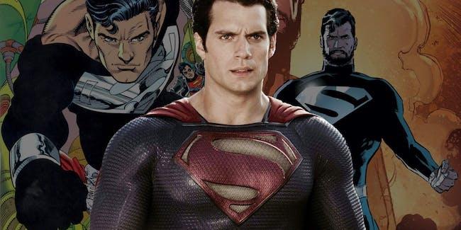 Justice League Superman Black Suit