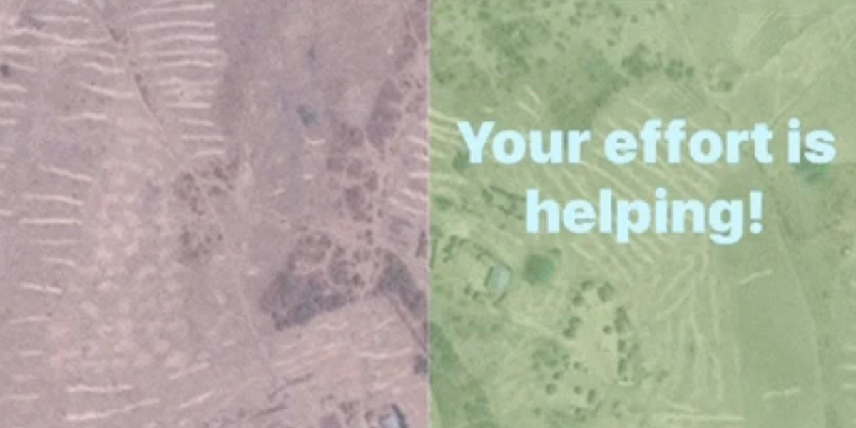 This Addictive Mapping App Will Kill Boredom for a Good Cause