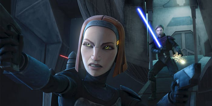 Obi-Wan Kenobi Bo-Katan Mandalorian Clone Wars Star Wars Rebels