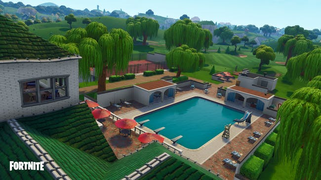 Lazy Links looks like a dope luxury golf course in 'Fortnite: Battle Royale' Season 5. Do they require membership?