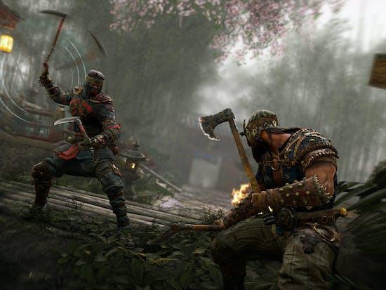The Shinobi in 'For Honor' Is an Agile Ninja Warrior