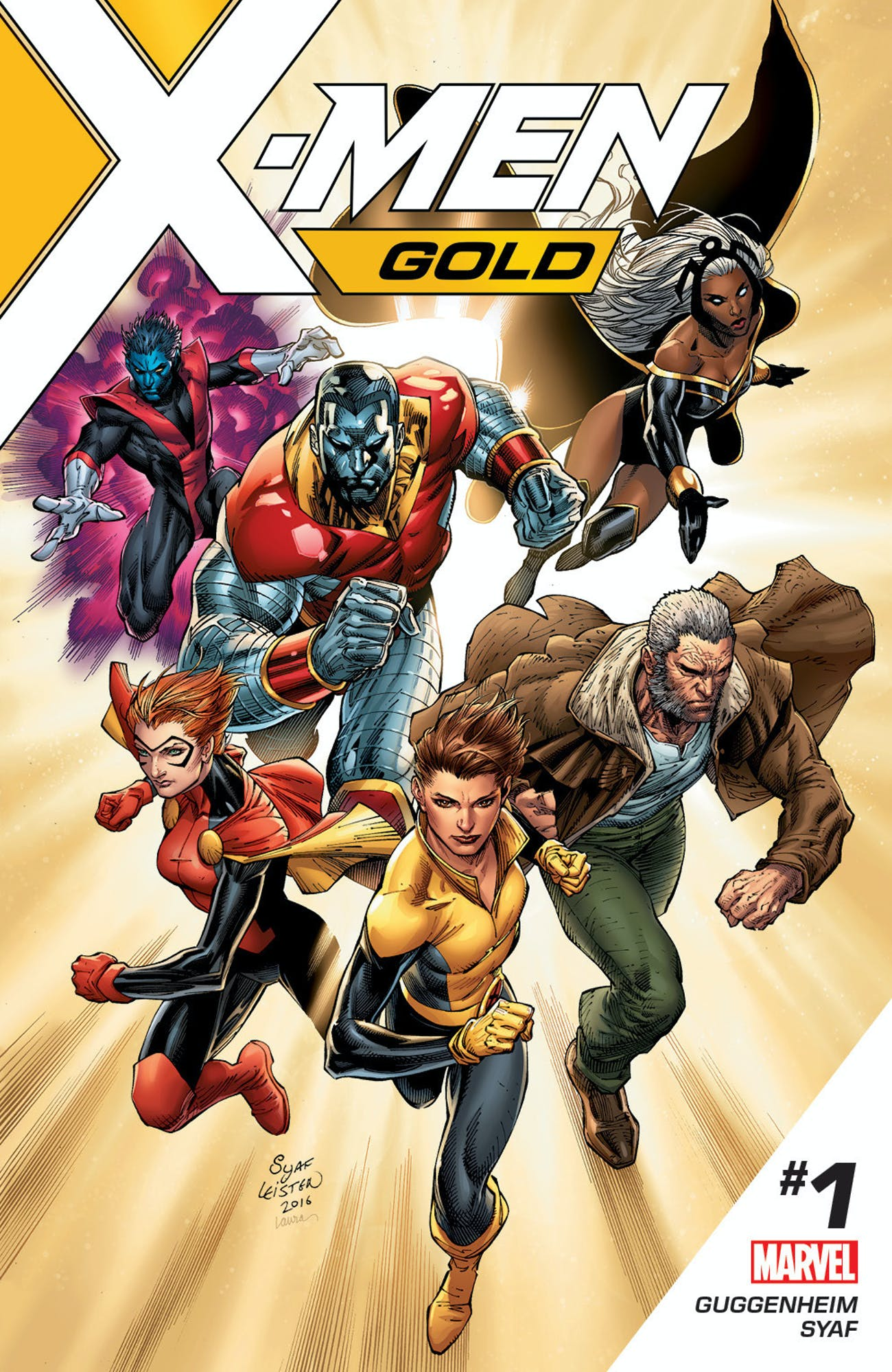 Cover for X-Men Gold from Marvel Comics