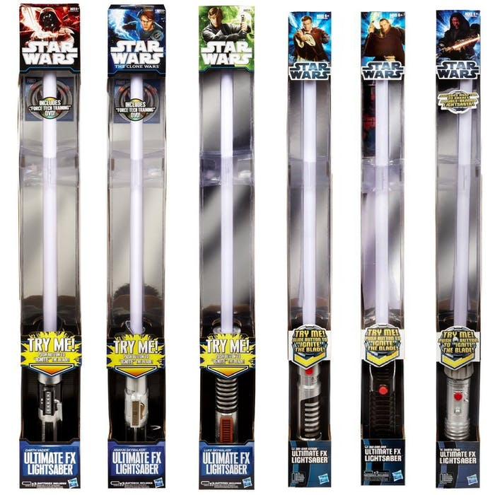 Ultimate FX Lightsaber Toys