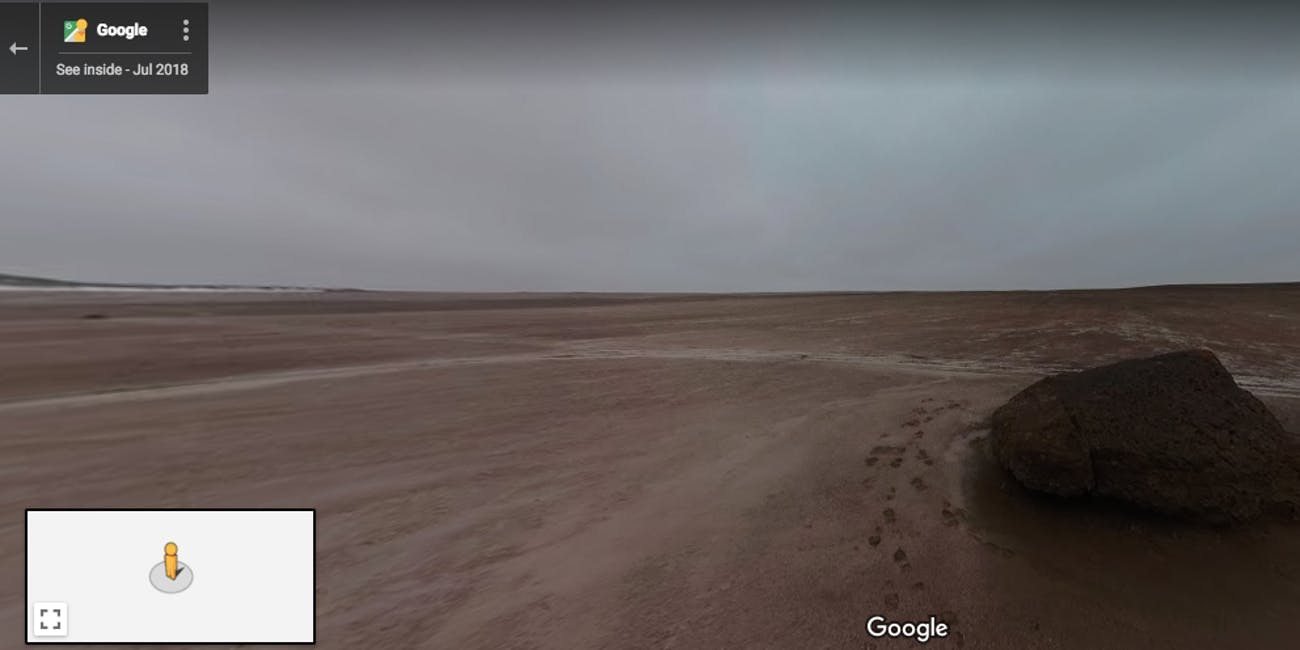 SETI Institute/Google Street View