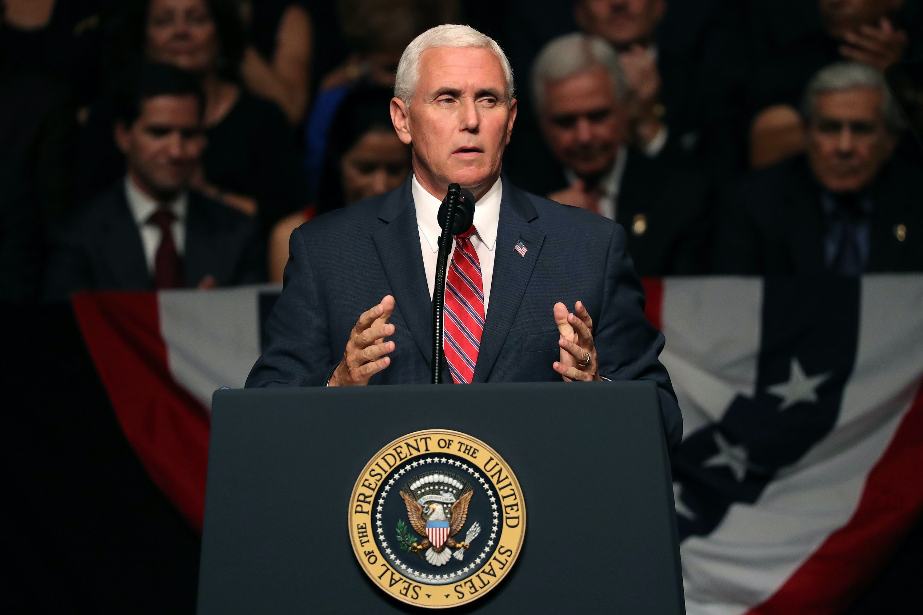 mike pence probably looking for something else to touch?rect=0%2C246%2C3000%2C1000&auto=format%2Ccompress&w=650 the internet mocks mike pence for ignoring nasa's \