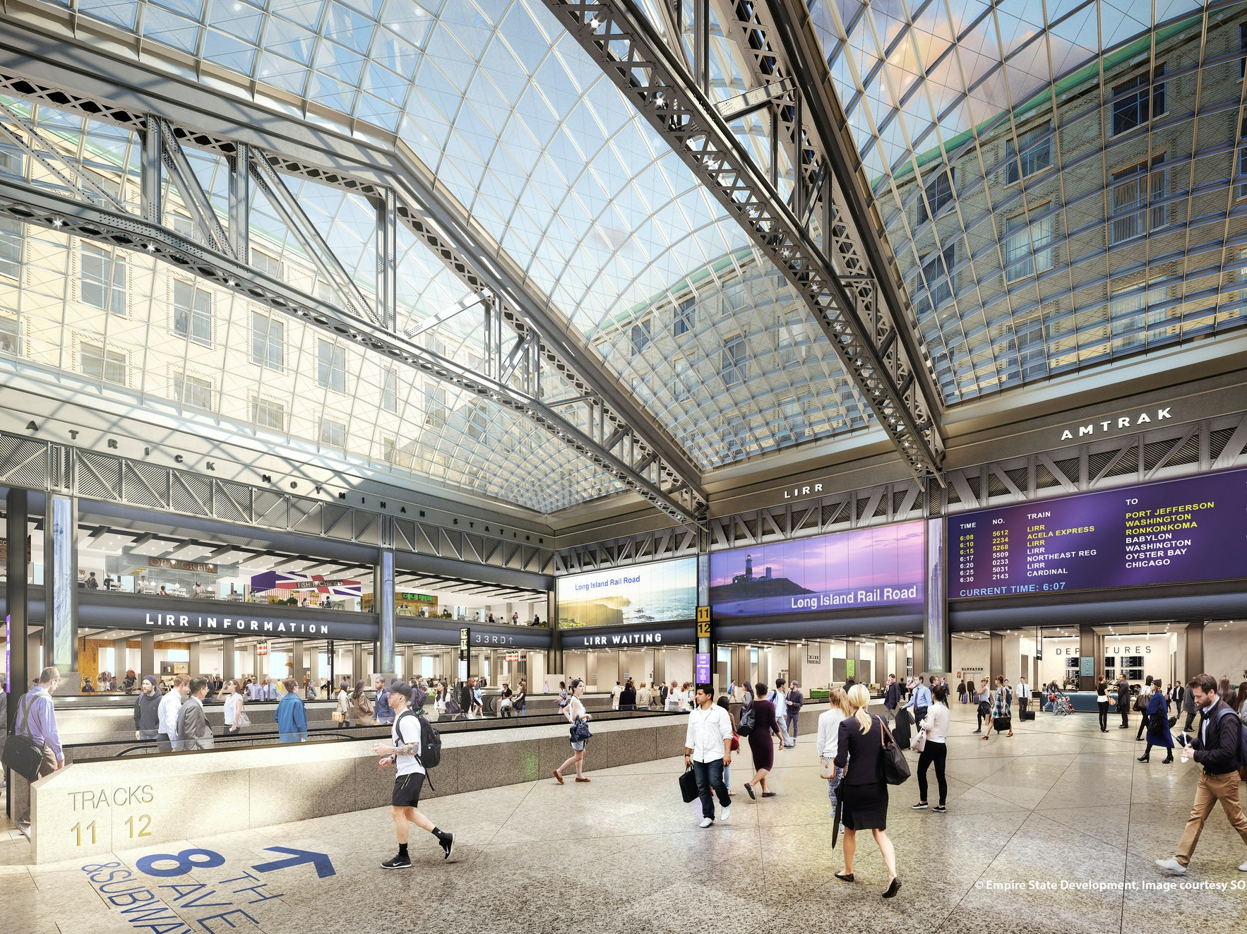 New York City's Much-Hated Penn Station is Getting a Makeover