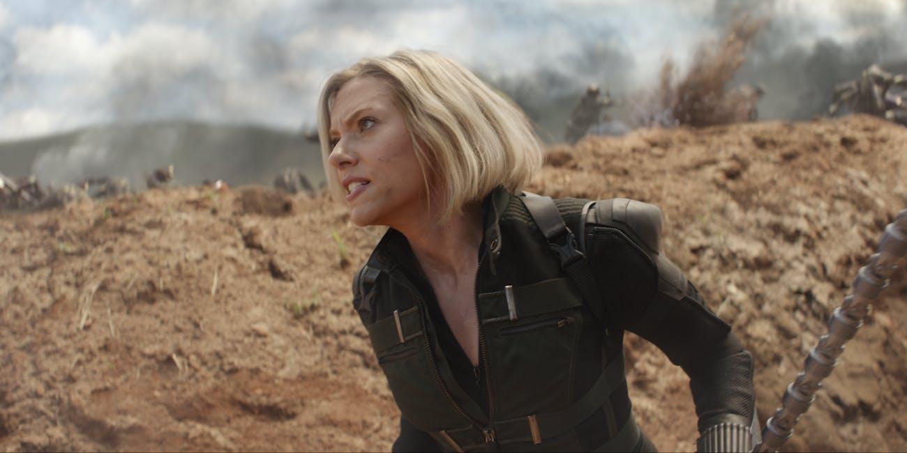 Black Widow Avengers Endgame Infinity War